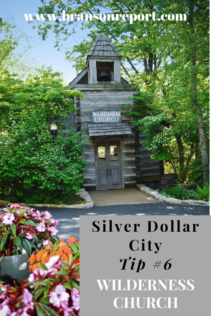 wilderness church at silver dollar city