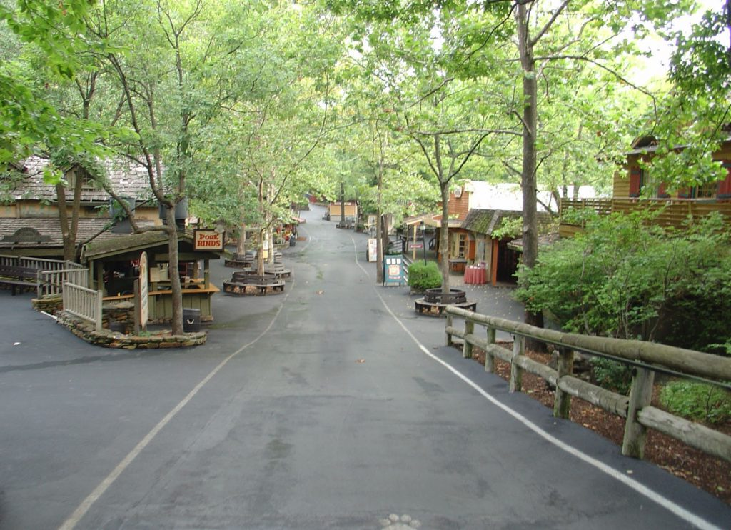 the best time to visit silver dollar city is after a rain storm