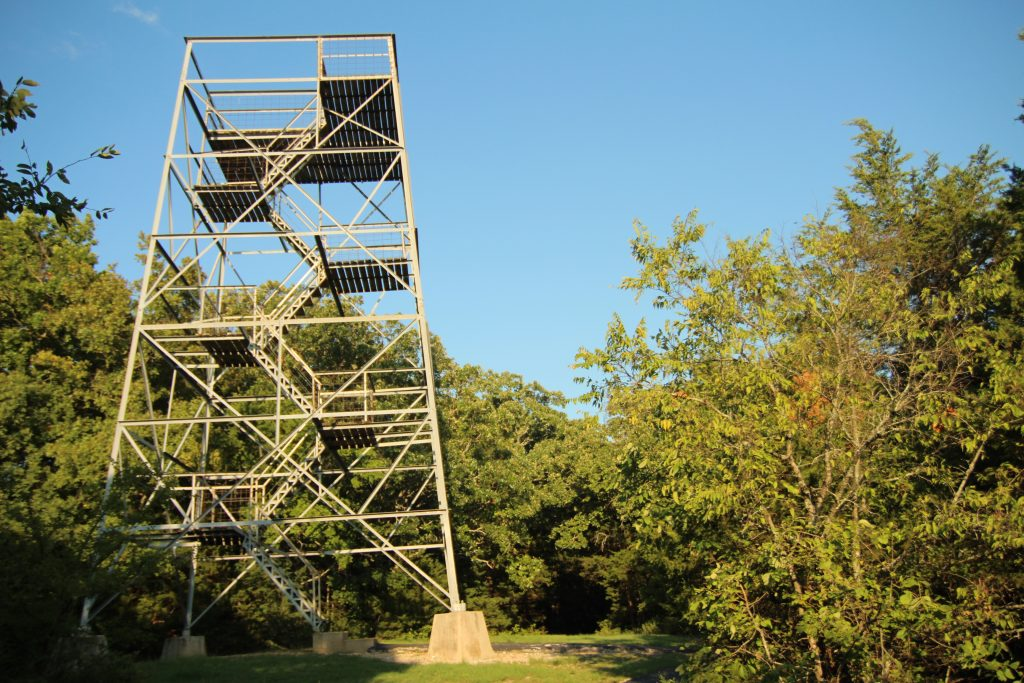 observation tower in branson mo