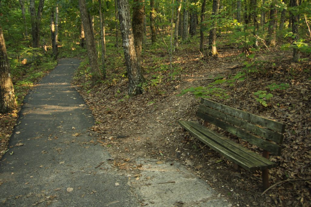 branson hiking trail that is paved